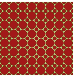 Polka dot geometric seamless pattern 310 vector image vector image