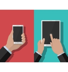 Smartphone and tablet-pc 1 vector