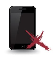 Smart phone x vector