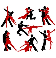 Ballroom Dancing - 4 vector image