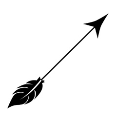 arrow archery icon image vector image