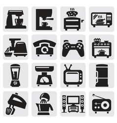 home appliance set vector image