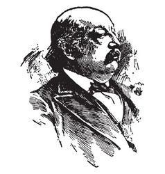 benjamin f butler vintage vector image vector image