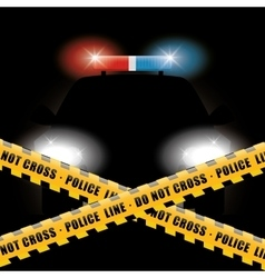 Police design illuistration vector