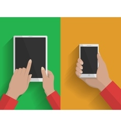Smartphone and tablet-pc 2 vector