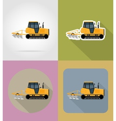 Transport flat icons 31 vector
