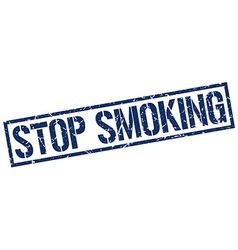 Stop smoking stamp vector