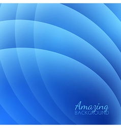 Abstract Smooth Waves Background vector image vector image