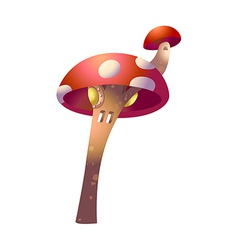 icon mushroom vector image vector image