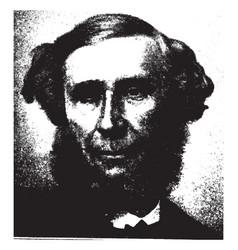 John tyndall vintage vector