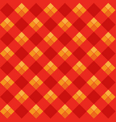 Red argyle seamless pattern vector