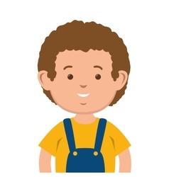 Avatar little boy vector