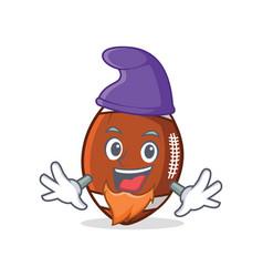 Elf american football character cartoon vector