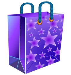Package with star vector