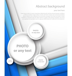 Abstract brochure vector