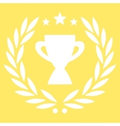 Glory icon from competition  success bicolor icon vector