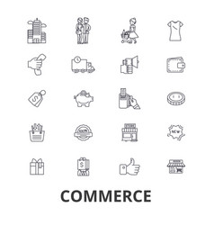 commerce store retail sales price buy sell vector image vector image