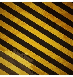 Grunge striped cunstruction background vector