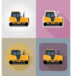 Transport flat icons 32 vector