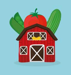 Farm fresh vegetables health image vector