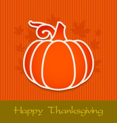 Thanksgiving day greeting card eps10 vector