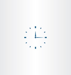 Mechanical clock icon vector