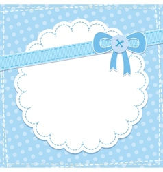 baby frame vector image vector image
