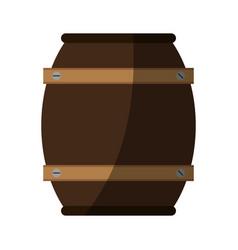 Barrel beverage dispenser vector