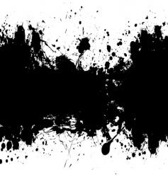 grunge banner black vector image vector image