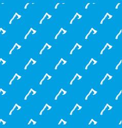 Hatchet pattern seamless blue vector