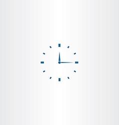 mechanical clock icon vector image