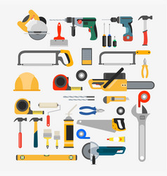 Set of tools for repair vector