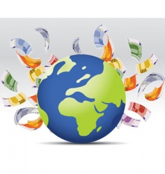 World business vector