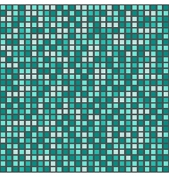 Azure tiled mosaic vector