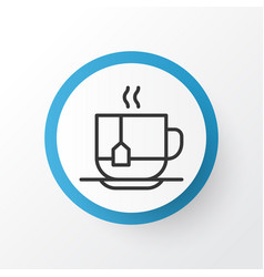 Disposable tea icon symbol premium quality vector