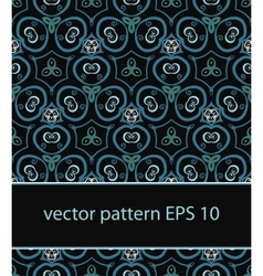 floral background seamless pattern vector image vector image