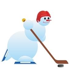 Hockey player-2 vector