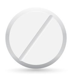 Pill closeup vector