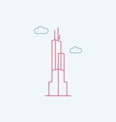 Willis tower vector