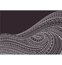 Zentangle Background vector image