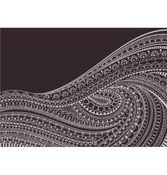 Zentangle Background vector image vector image