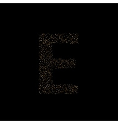 Magic e letter vector