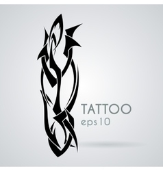 Icon in the style of tattoos vector