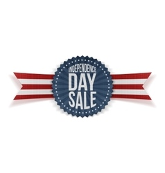 Independence day sale textile banner vector