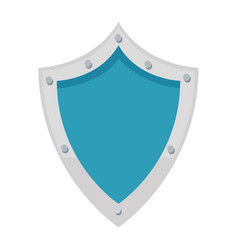 Shield protection security technology data vector