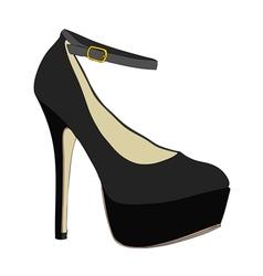 A very feminine shoe vector