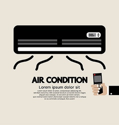 Air Condition Graphic vector image vector image