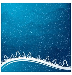 Just realistic beautiful snow vector