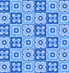 Pattern blue vector