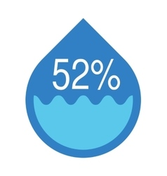 Water infographics information graphics vector